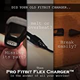Pro Fitbit Flex Charger | Superb 8.7inch USB Charger Cable Replacement for Fitbit Flex Band Wireless Activity Bracelet, Ultra Quick Charging
