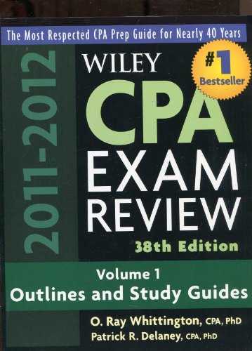 Wiley CPA Examination Review, 2 Volume Set (Wiley CPA Examination Review: Outlines & Study Guides / Problems & Solutions (2v.))
