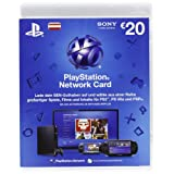 "PlayStation Network Card - 20 Euro - (Livecard PS3/PSP) (�sterreich)von ""Sony"""