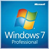 Windows 7 Professional SP1 32bit (Full) System Builder OEM DVD 1 Pack (New Packaging)
