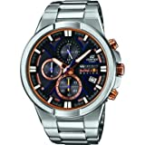 Casio EFR-544RB-1AER Mens Edifice Silver Tone Chronograph Watch