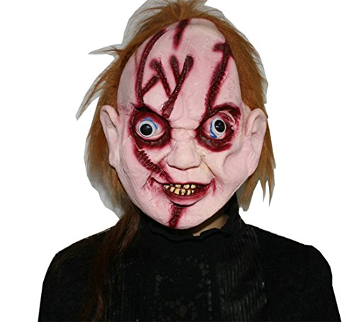 Bloody Zombie Horror Halloween Masquerade Party Costume Cosplay Face Mask
