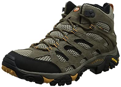 Buy Merrell Mens Moab Ventilator Mid Multisport Shoe by Merrell