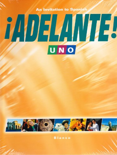 Adelante 1 (Uno) Student Edition with Supersite Code