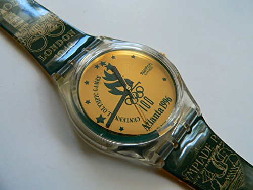 1994 Vintage Swatch Watch Atlanta 1996 GZ136. 1