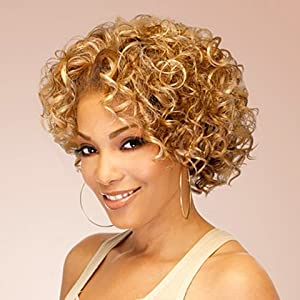 Outre Quick Weave Synthetic Hair Half Wig - Kendis (Color: 1)