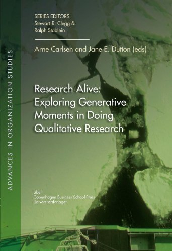 Research Alive: Exploring Generative Moments in Doing Qualitative Research (Advances in Organization Studies) (Advance Accounting Theory compare prices)