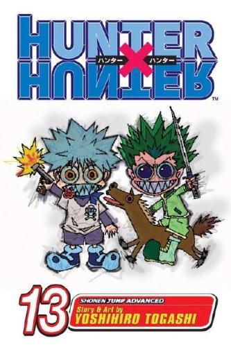 HUNTER×HUNTER ハンターハンター コミック13巻 (英語版)