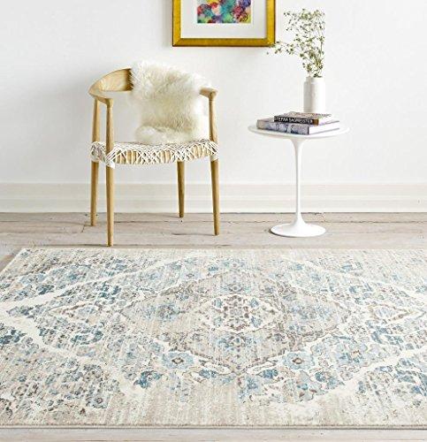 4620 distressed cream 7 39 10x10 39 6 area rug carpet large new for 10x10 carpet