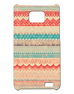 Mobile Cover Shop Glossy Finish Mobile Back Cover Case for Samsung S2