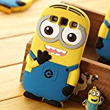 Go Crazzy Despicable Me Minion Back Case For Samsung Galaxy S3 I9300 (Multi-coloured)