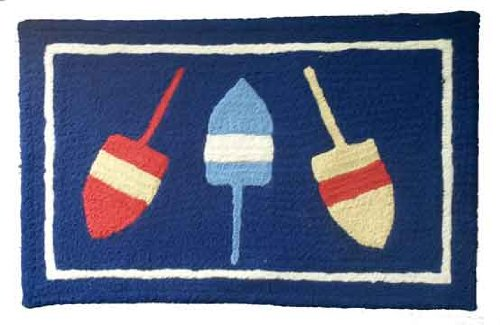Nautical Rugs for Decorating Home with Beach Theme |