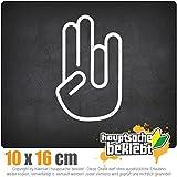 The Shocker Hand 16 x 10 cm JDM Decal Sticker Aufkleber Racing Die Cut