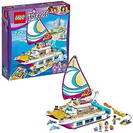 LEGO - 41317 - Friends - Jeu de Construction - Le catamaran