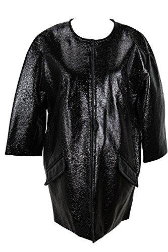 paule-ka-womens-jacket-size-8-us-44-it-regular-black-acrylic