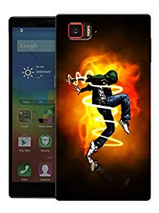 """Dance Is My Life Printed Designer Mobile Back Cover For """"Lenovo Vibe Z2 Pro K920"""" By Humor Gang (3D, Matte Finish, Premium Quality, Protective Snap On Slim Hard Phone Case, Multi Color)"""