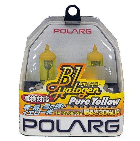 POLARG (ポラーグ) B1ハロゲン ピュアイエロー [Y-16] 12V 35W イエロー (2個入り) [品番] P0787Y