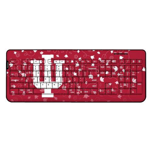 Indiana Hoosiers Wireless Usb Keyboard Swede Ncaa