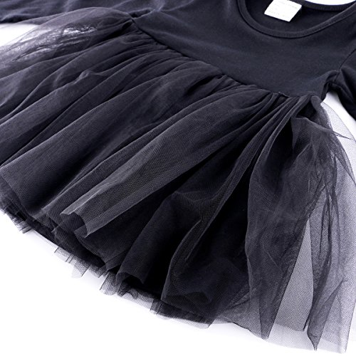 Baby Girl Dress Toddler / Kids Pleated Princess Tutu Skirt with Tshirt Top