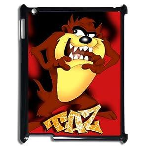 Amazon.com: TAZ iPad 2 3 4 Case Cartoon Tasmanian Devil Red iPad Case