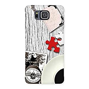 Enticing Vintage Style Multicolor Back Case Cover for Galaxy Alpha