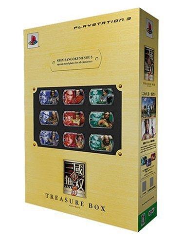 真・三國無双5 TREASURE BOX 特典 PS3版オリジナルスリーブ付き