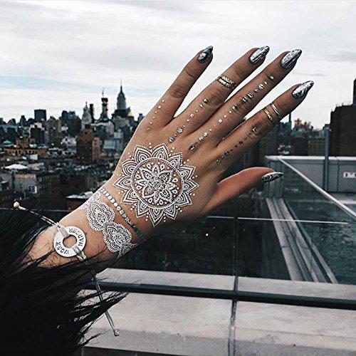 tribetats-mykonos-white-temporary-tattoos-with-silver-metallic-henna-inspired-body-art-music-festiva