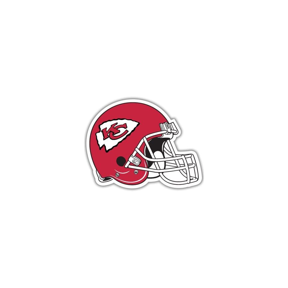 Kansas City Chiefs NFL Football bumper sticker 5x 4