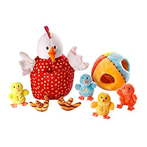 Lilliputiens 86009 La gallina Ofelia y sus pollitos - Conjunto de muñecos en BebeHogar.com