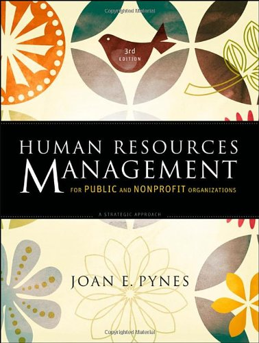 Human Resources Management for Public and Nonprofit...