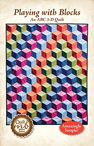 Playing with Blocks: An ABC 3-D Quilt Pattern