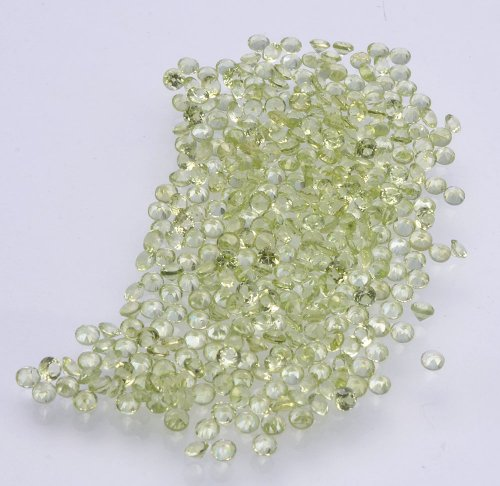Natural Peridot Aaa Quality Loose Gemstone 1.75 Mm Faceted Round 50 Pieces Lot From Dashrath International front-1075027