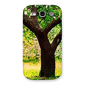 Cute Green New Tree Back Case Cover for Galaxy S3