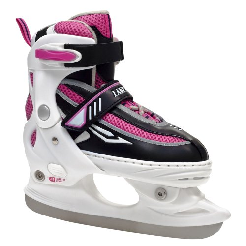 Lake Placid Metro Girl's Adjustable Figure Ice Skate (Medium (2-5))