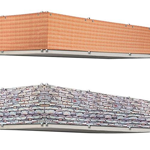 Sichtschutz Aus Holz Fur Balkon ? Bvrao.com Sichtschutz Balkon Varianten Aus Holz