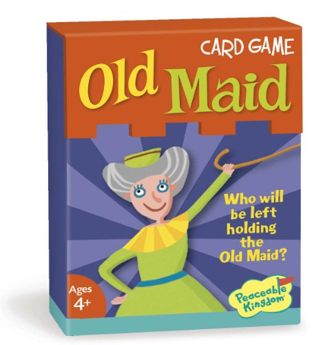 Peaceable Kingdom / Old Maid Card Game front-988995