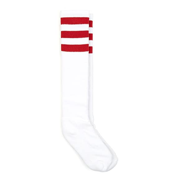 American Apparel Unisex Striped Cotton Rich Knee-High Socks