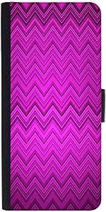 Snoogg Purple Wave Pattern 2426 Designer Protective Flip Case Cover For Apple...