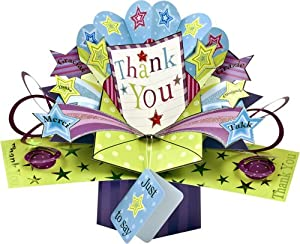 Second Nature Pop Up Greeting Card For Thank You Office Products