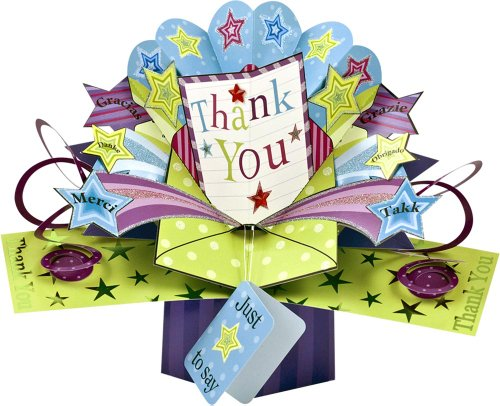 1 X THE ORIGINAL POP UPS - 017 - THANK YOU [Office Product]