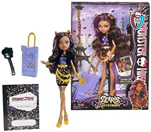 """Amazon.com: Clawdeen Wolf ~10.5"""" Monster High Scaris - City of Frights"""