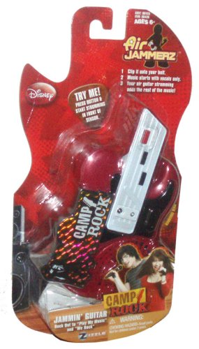 "Disney Camp Rock Air Jammerz - Red Jammin' Guitar with Pick and 2 Songs : ""Play My Music"" and ""We Rock"" - 1"