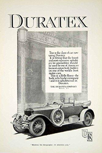 1917-ad-duratex-company-upholstery-rolls-royce-newark-new-jersey-historical-yng1-original-print-ad