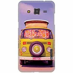 Printland Designer Back Cover for Samsung Galaxy j2 - Car Case Cover
