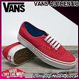 VANS(バンズ) オーセンティック AUTHENTIC Lollipop/Neon Coral/メンズ(men's) 靴 スニーカー(VN-0U1WAM7)