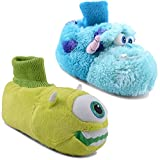 New Babies Infants De Fonseca Monsters Inc Mike Sully Novelty Slippers Girls Boys Unisex Cosy Fun Gift Disney Booties