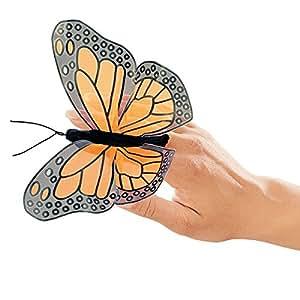 Folkmanis Mini Monarch Butterfly Finger Puppet