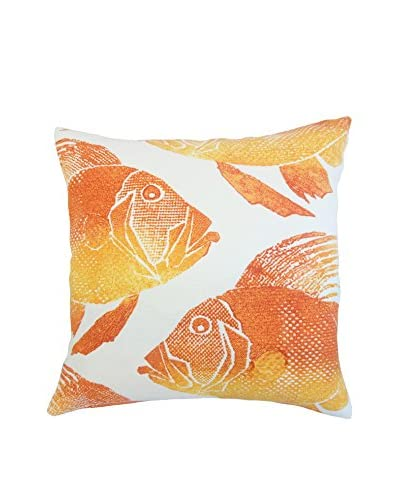 The Pillow Collection 18 Porto Pillow, Orange