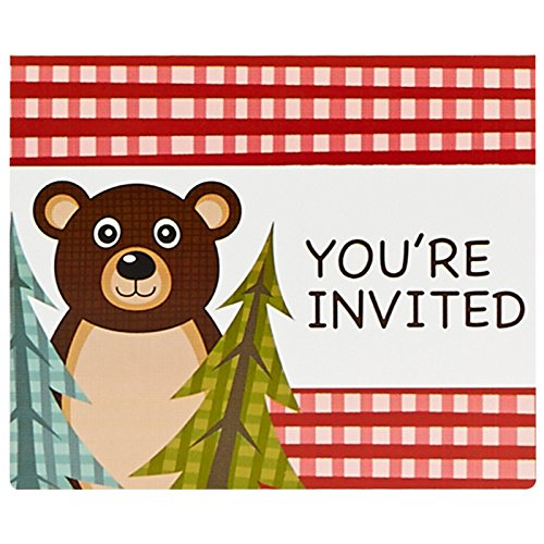 Let's Go Camping Invitations (8)