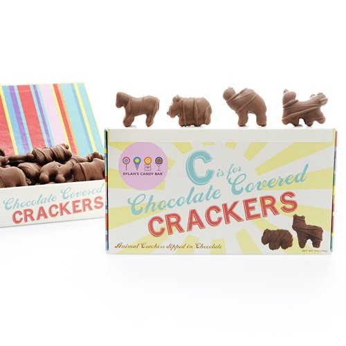 Dylan's Candy Bar Chocolate Covered Animal Crackers